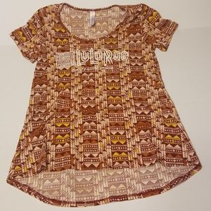 LuLaRoe simply comfortable shirt women's size XXS